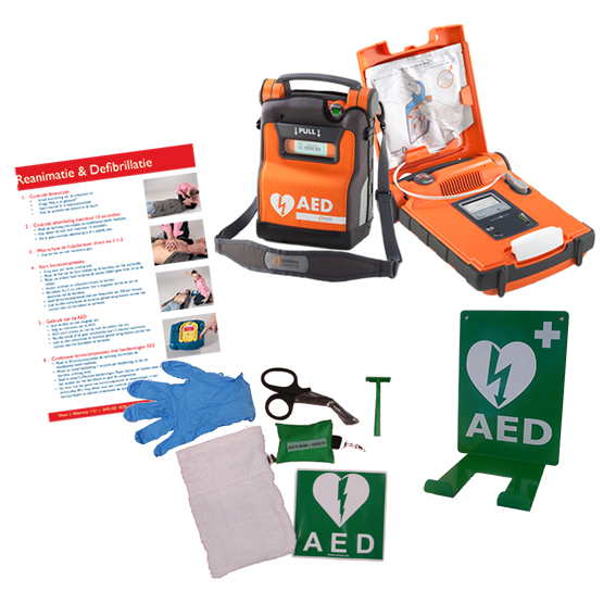 Cardiac Science Powerheart G5 AED pakket compleet