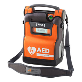 Cardiac Science Powerheart G5 AED draagtas