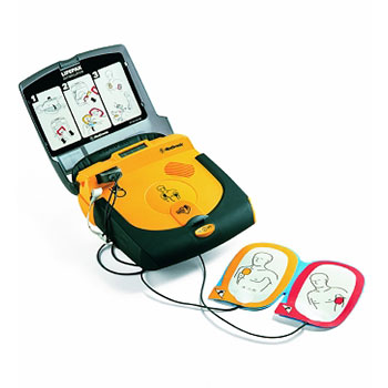 Physio Control LIFEPAK CR Plus AED open
